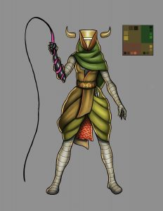 The Sprawl: Daughter of the Desert (game concept)